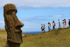 Voyage à l'île de Pâques, Chili