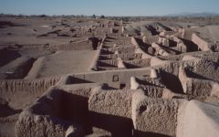 Voyage au Mexique : Zone archéologique de Paquimé, Casas Grandes