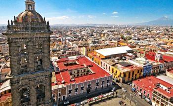 Voyage au Mexique : Centre historique de Puebla