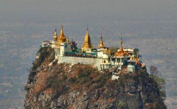 Voyage en Birmanie: à la découverte du mont Popa