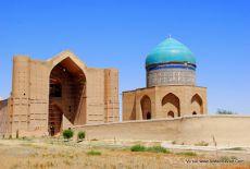 Voyage au Kazakhstan: le mausolée de Khoja Ahmed Yasawi