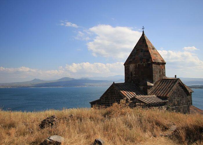 Voyage sur le lac Sevan d'Arménie