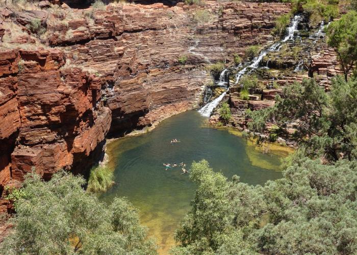 Circuit sur-mesure en Australie : le parc Karijini en quatre jours