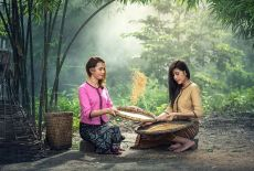 Séjour Birmanie: Le Longyi, habit traditionnel