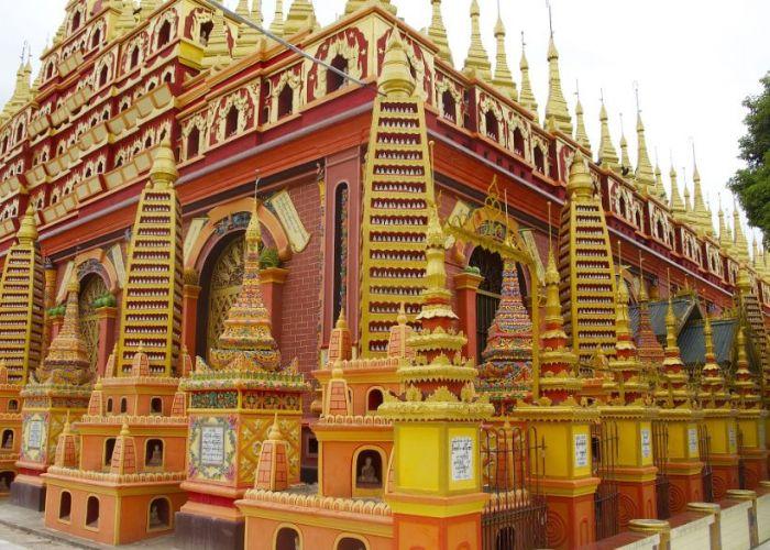 Extension aux grottes de Monywa,  depuis Mandalay en deux jours