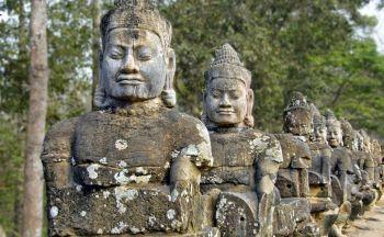 Extension aux temples Angkor en cinq jours