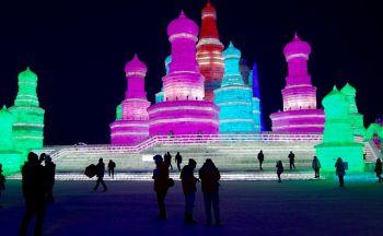 Le Festival de neige à Harbin