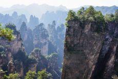 Voyage dans le Hunan (Chine): Le Parc National Forestier de Zhangjiajie