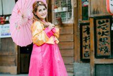 Le Hanbok, habit traditionnel des Coréens