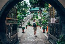 Voyage à Hong Kong: Le Temple Wong Tai Sin