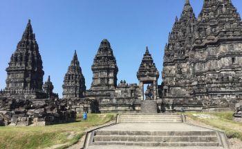 Voyage en Indonésie: Ensemble de Prambanan