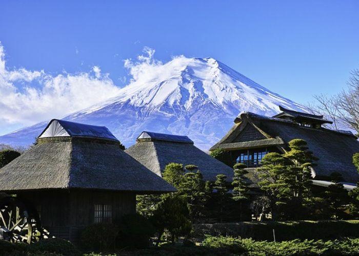 Voyage au Japon: Mont Fuji