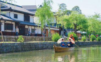 Circuit Japon : Le quartier historique Kurashiki Bikan
