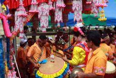 Fêtes traditionnelles au Laos