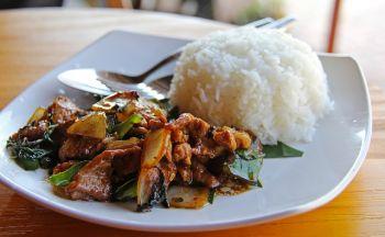 Voyage au Laos avec le plat national: le Lap