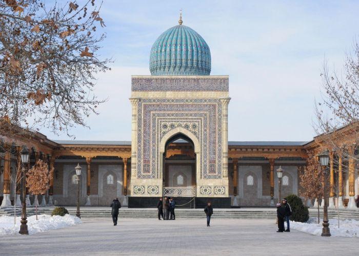 L'essentiel de l'Ouzbékistan en groupe en neuf jours