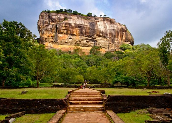 Voyage à Sigirîya au Sri Lanka