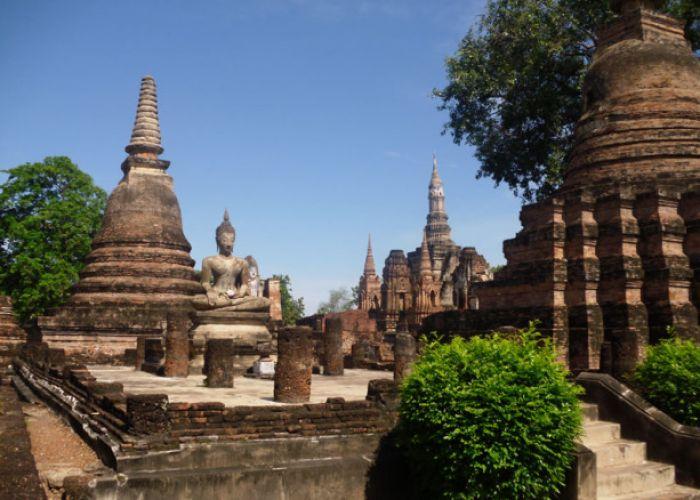 Voyage en Thaïlande: La ville historique de Sukhothaï et les villes historiques associées