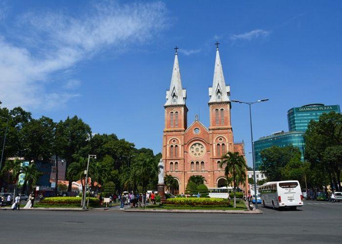 Voyage au Vietnam: Notre Dame de Saïgon