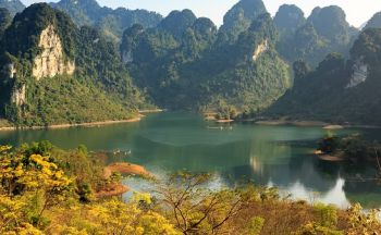 Voyage au Vietnam: Le Lac des trois mers (ou Lac Ba Be)