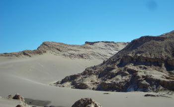 Extension de Calama dans les plaines et déserts du Chili en une semaine