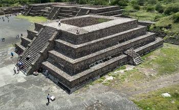 Voyage au Mexique: Cité préhispanique de Teotihuacan