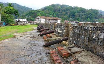 Voyage sur-mesure Panama : les fortifications de la côte Caraïbe