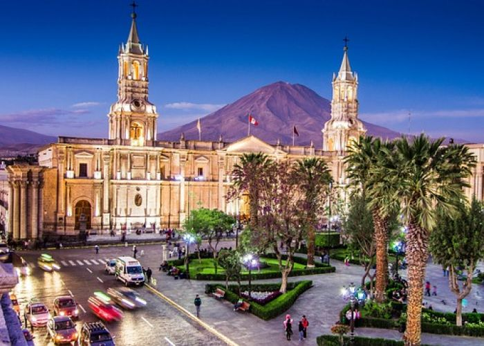 Voyage au Pérou: Le couvent de Santa Catalina à Arequipa