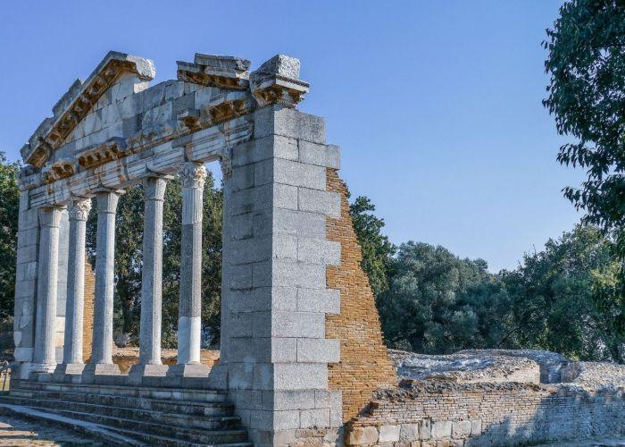 Voyage Albanie : Les ruines d'Apollonie et le monastère Ardenica