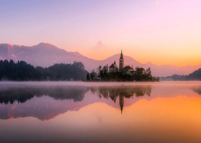 Circuit sur mesure en Slovénie : Excursion à Bled