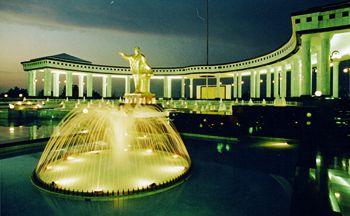 Voyage combiné Turkménistan-Ouzbékistan-Kazakzstan-Kirghizistan en trente deux jours