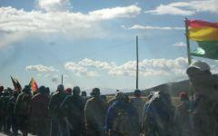 Extension dans les villes coloniales de Bolivie