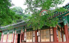Extension en Corée du Sud au Mont Jiri