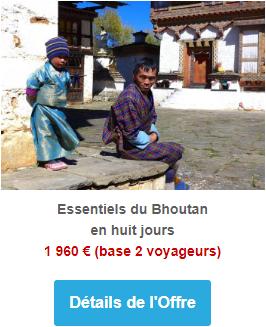 Essentiels du Bhoutan en huit jours
