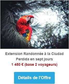 Extension randonnée à la Ciudad Perdida en sept jours