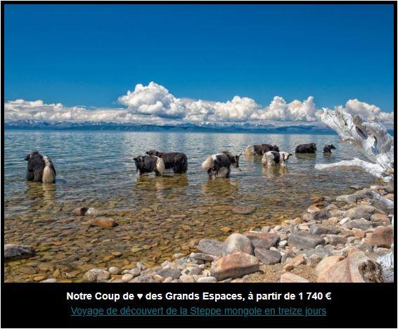Voyage de découverte de la steppe mongole en treize jours