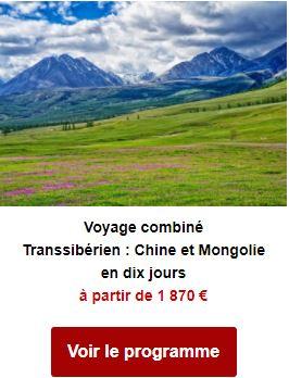 Voyage combiné Transsibérien : Chine et Mongolie en dix huit jours