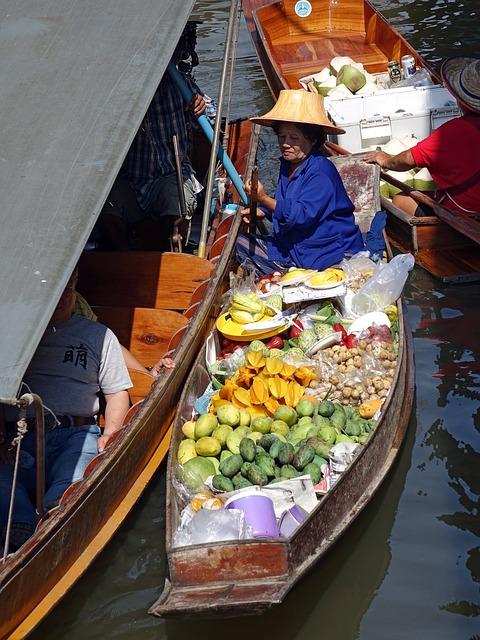 Voyage Thaïlande : Le marché flottant de Damnoen Saduak